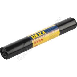 Мешки для мусора DEXX, черные, 120л, 10шт / 39151-120